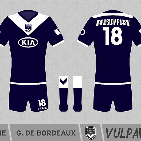 FC Girondins de Bordeaux Home Kit