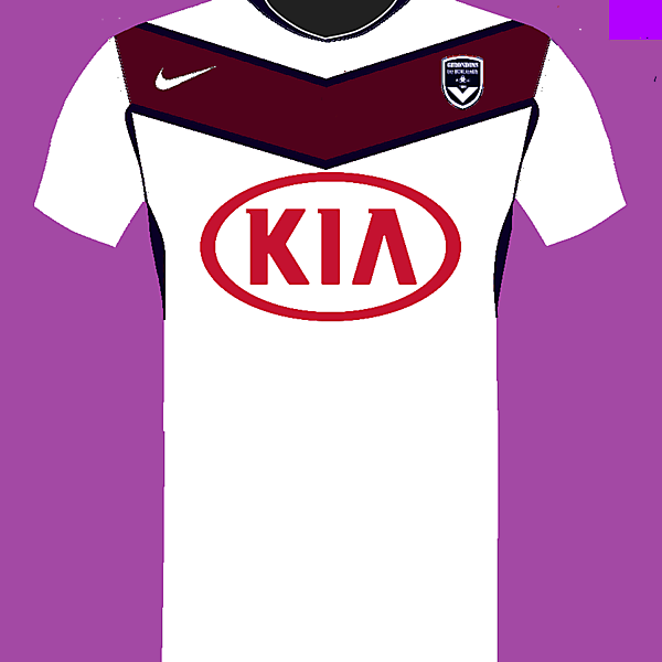 Bordeaux Nike Away