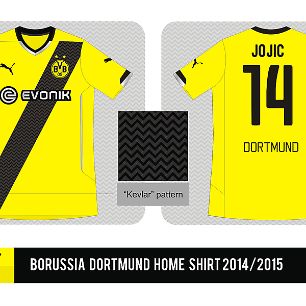 Borussia Dortmund Puma Home shirt 2014/2015 - Prediction