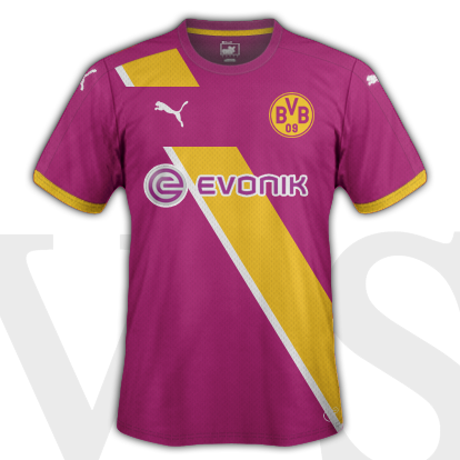 Borussia Dortmund Third Kit 2015/16 season with Puma