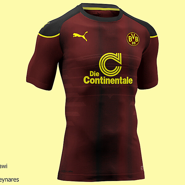 Borussia Dortmund Third kit
