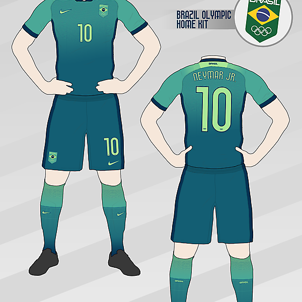 Brazil Olympic Home Kit