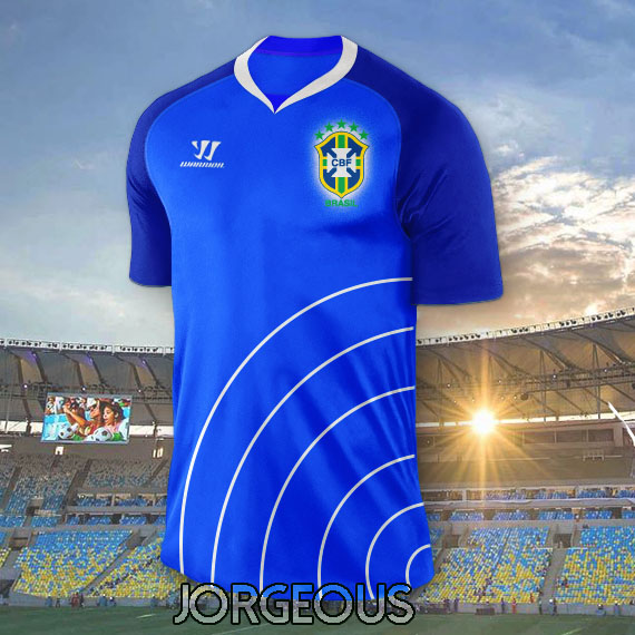 Brazil WARRIOR Away Kit