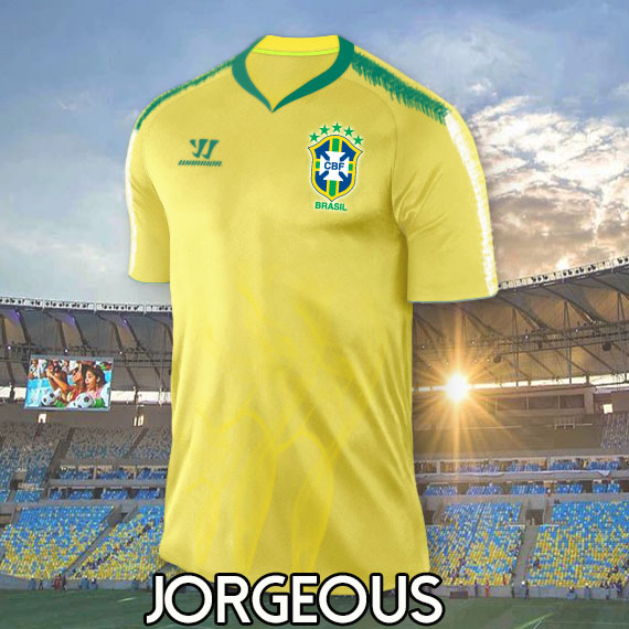 Brazil WARRIOR Home Kit