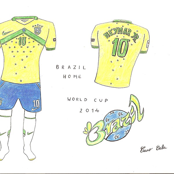 Brazil World Cup home concept