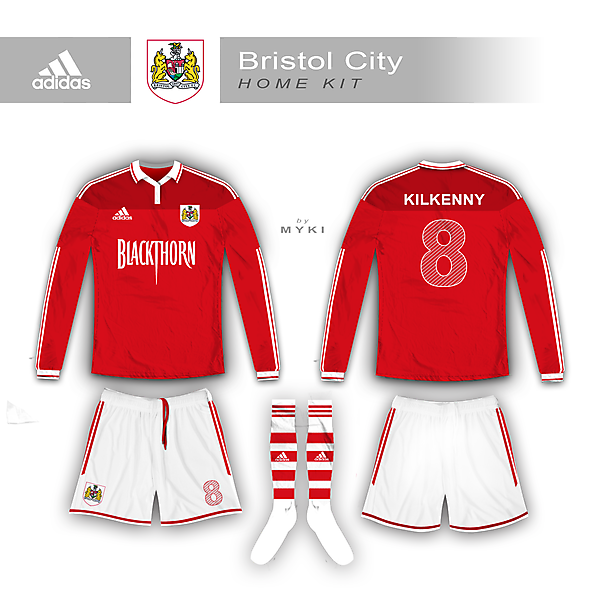 Bristol City 2014/15 Home Kit