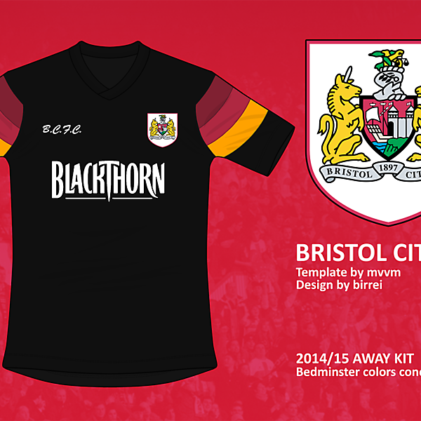Bristol City FC Away Kit