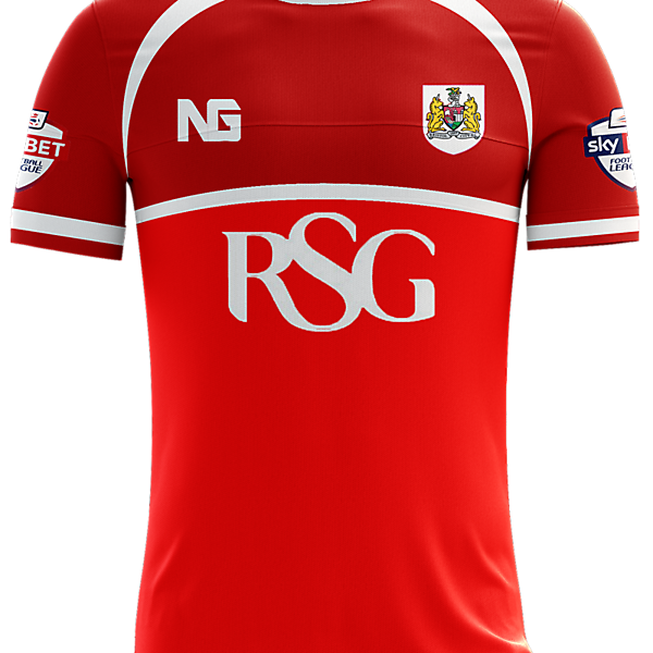 Bristol City Home Jersey concept