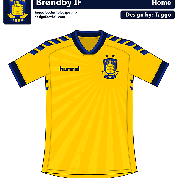 Brondby IF Hummel Home Kit