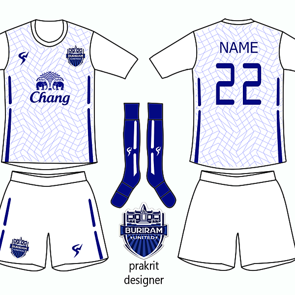 Buriram Kit Away 2016