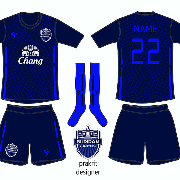 Buriram United Kit 2016