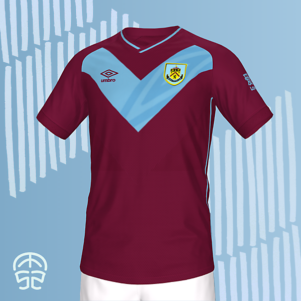 BURNLEY FC HOME KIT CONCEPT