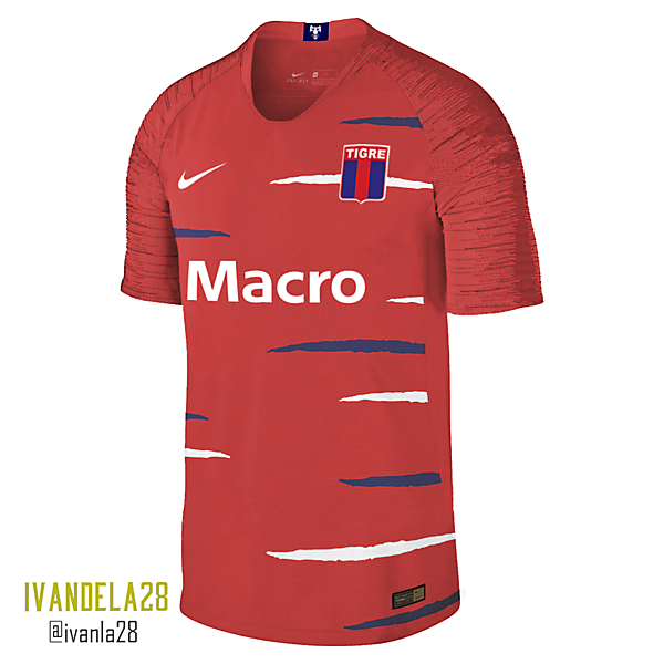 C.A. Tigre Away Kit Nike