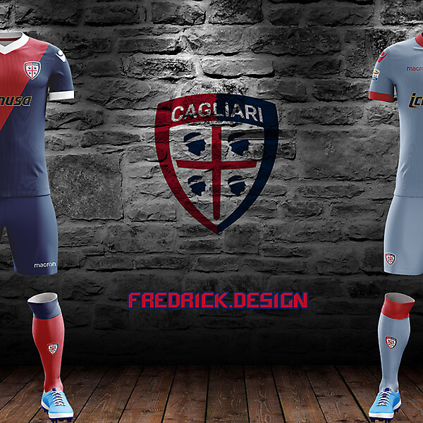 Cagliari x Macron x Home/Away
