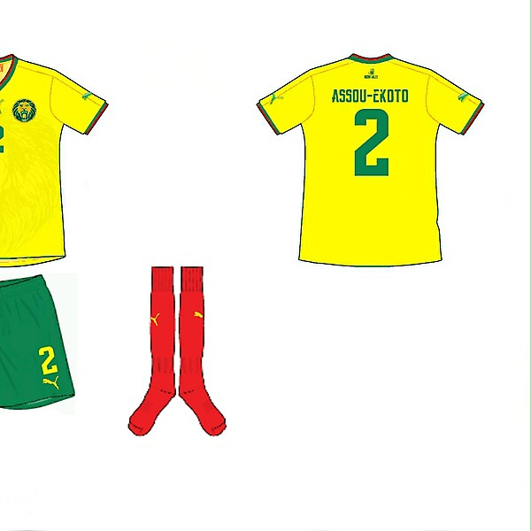 Cameroon Away Kit