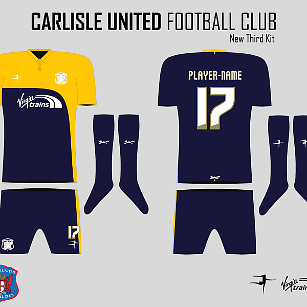 Carlisle United Third Kit