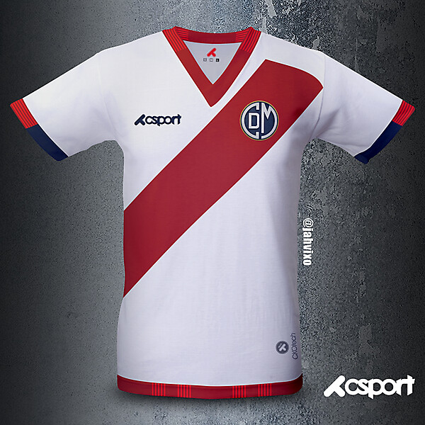 CD Municipal home jersey