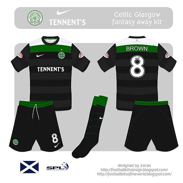 Celtic Glasgow fantasy away