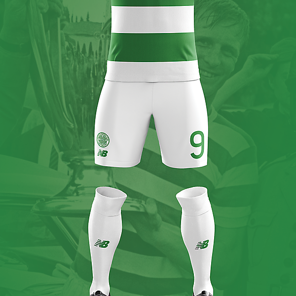 Celtic Home Kit 17/18 Concept