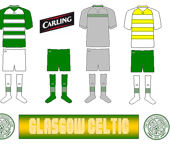 Celtic 2010/11 Kits