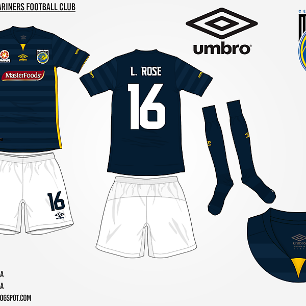 Central Coast Mariners Away