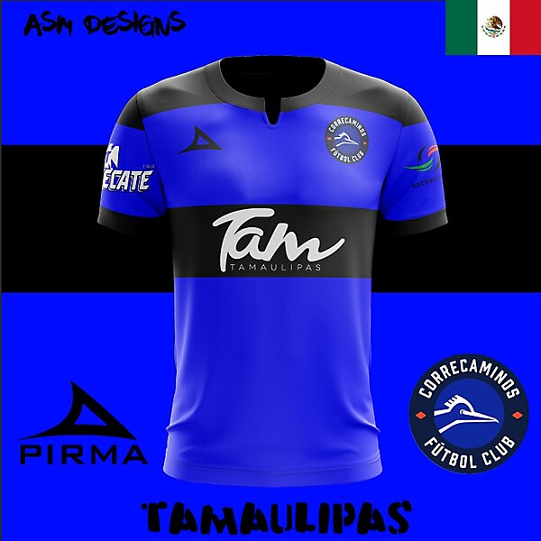 CF Correcaminos Pirma 2018 Home Kit