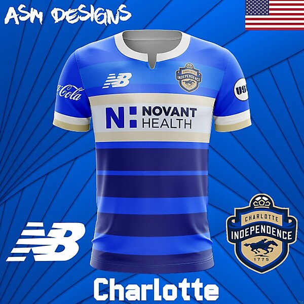 Charlotte Independence 2018 New Balance Home Kit