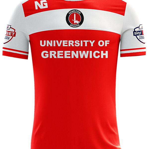 Charlton Athletic Home Jersey concept