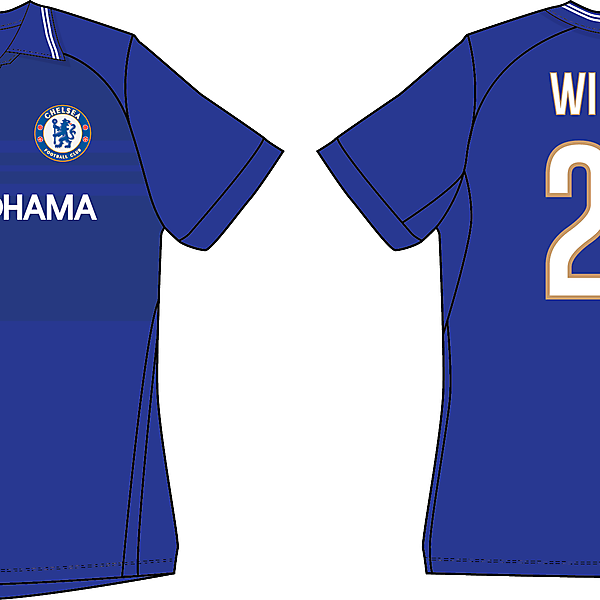 Chelsea - Umbro home shirt