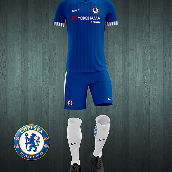 Chelsea 2016-17 home kit concept