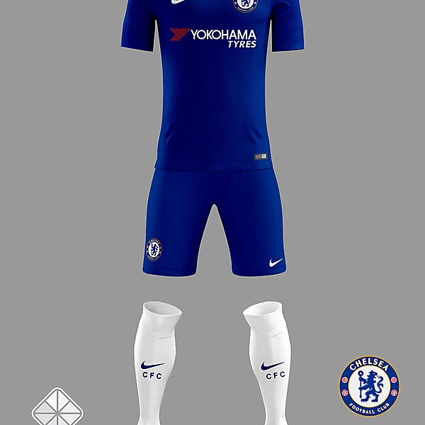 Chelsea 2018/2019 Home Jersey