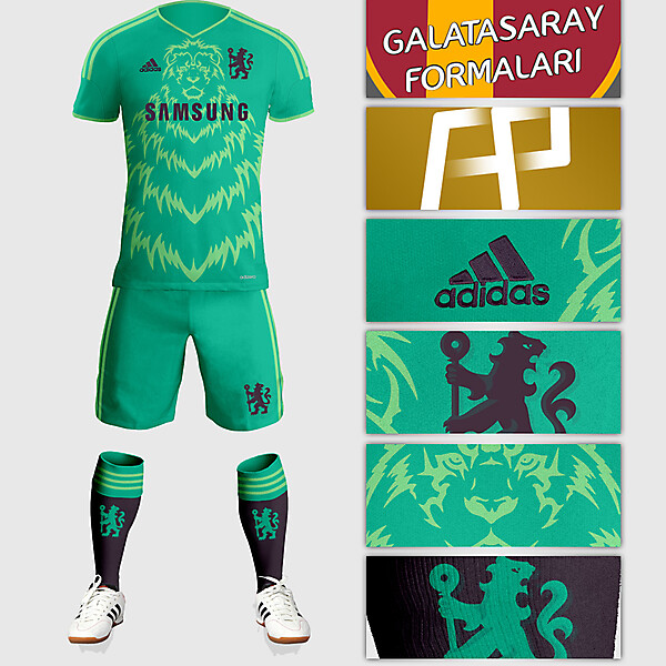 Chelsea Away Kit Design