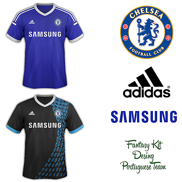 Chelsea Fantasy Home and Away Kit 2014/2015