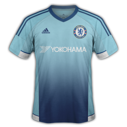 Chelsea Fantasy Third kit with Adidas