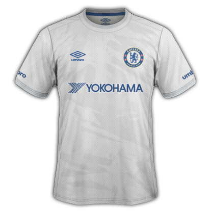 Chelsea Fantasy Third kit with Umbro