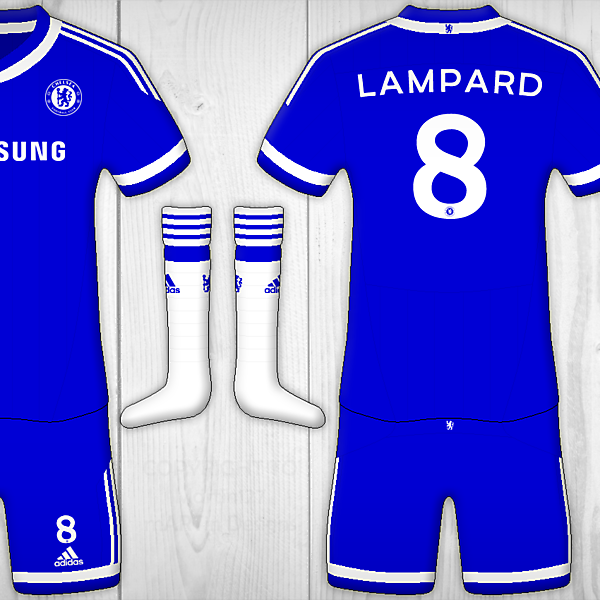 Chelsea FC Home - Adidas Kit
