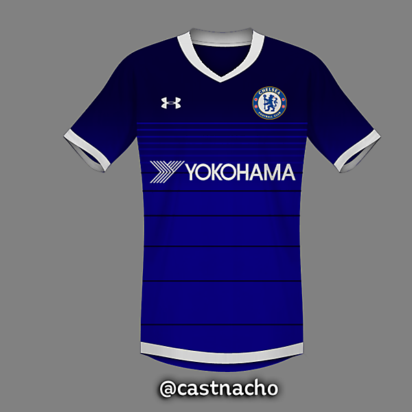 Chelsea FC Under Armour Home Kit