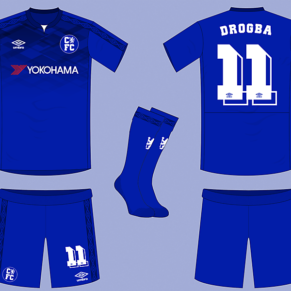 Chelsea Home Kit by Umbro