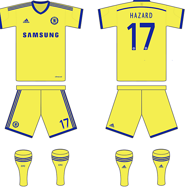 Chelsea Possible 14/15 Away Kit