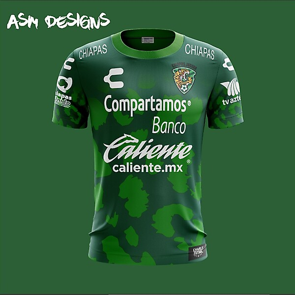 Chiapas F.C. Charly 2018 Home Kit