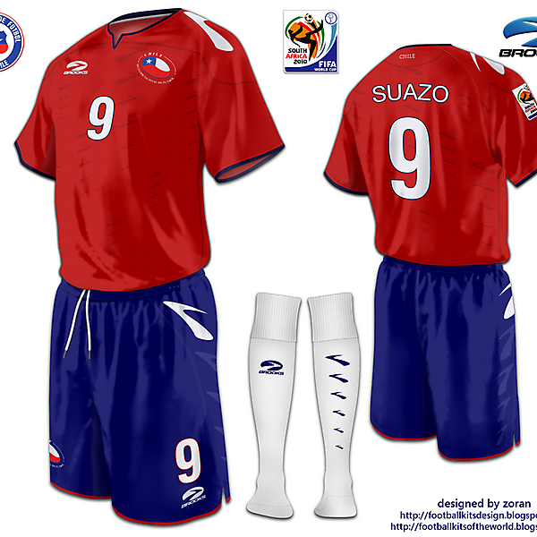 Chile World Cup 2010 fantasy home