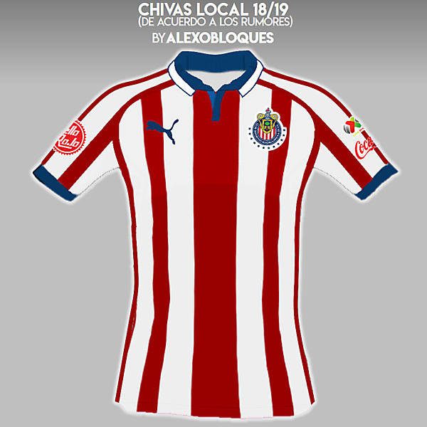 Chivas 18/19 (according to rumors)