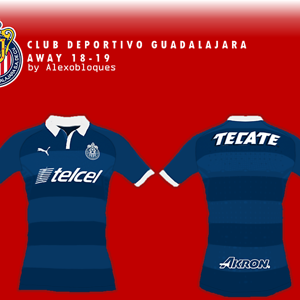 Chivas 18/19 Away Concept