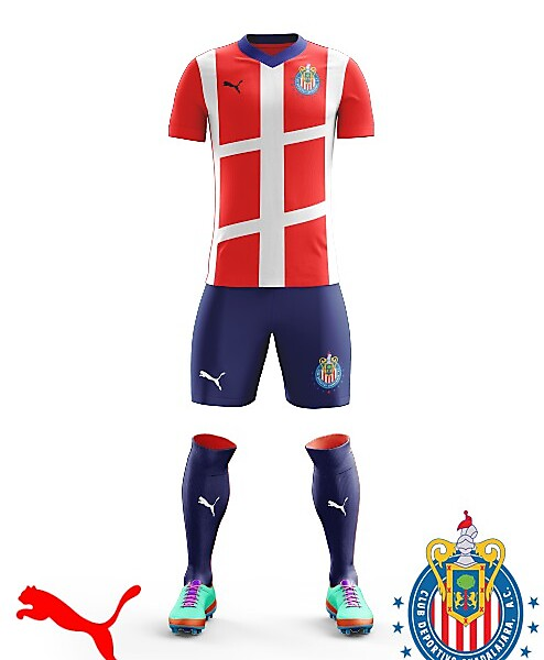 Chivas 2018 Puma Home kit