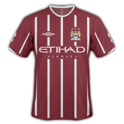 Man City Umbro Away