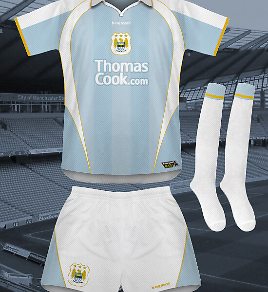 Manchester City European Home