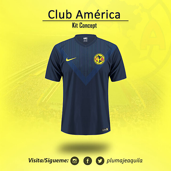 Club America Away KIt Concept