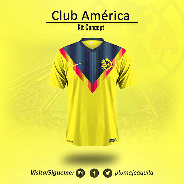 Club America Home KIt Concept