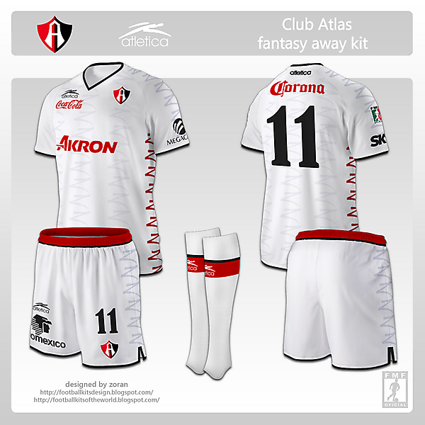 Club Atlas fantasy away