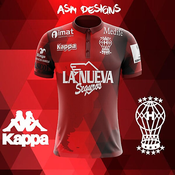 Club Atlético Huracán Kappa 2018 Home Kit